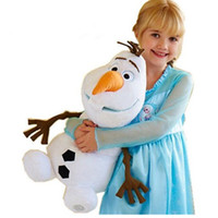 Wholesale Olaf Plush Kids Toys Kawaii cm Snowman Cartoon Plush Toys Doll Soft Stuffed Toys Brinquedos Juguetes Gift for Girl Baby