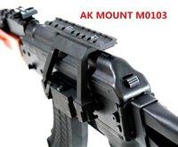 Wholesale Tactical AK Serie Rail Side Mount Quick QD Style mm Detach Rail Lock Scope Mount Base Gun Accessories for AK U Rifle