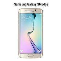 Wholesale 100 Refurbished Original Samsung Galaxy S6 Edge G925A Unlocked Phone Octa Core GB RAM GB ROM G LTE MP quot