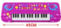 Wholesale Children s multi function music electronic organ Little male girl baby piano early childhood educational toys years old