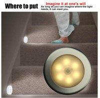 Wholesale Motion sensor light Night light motion activated sensor Infrared corridor closet light battery human body induction lamp