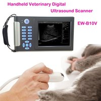 Wholesale Promotion ultrasound diagnostic for pets cats dogs EW V micro convex waterproof bag headlight H1N wear one loupe x