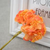 Wholesale fake flower decoration cheap artificial flowers silk flower Wedding decoration Handmade Wreath material