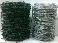 Wholesale 12 Galvanized Barbed Wire Standard Long Span Life Steel Wire Reverse Twist Barbed Wire for Protect Fencing and Industrial Use