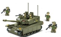 amphibious tanks - Assembles toy Play forces lu amphibious tanks Children s educational toys M38 B0305