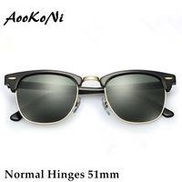 amber girl - AOOKO Hot Sale Designer Brand Sunglasses Master Men Sun Glasses Women Outdoor Semi Rimless Retro Sunglass Gafas de sol Sunglas mm