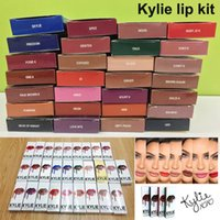 best pencil - Best Colors KYLIE LIP KIT lipgloss lip liner pencil KYLIE JENNER Liquid Matte Lipstick in Red Velvet Makeup Lip Gloss Cosmetics