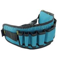 belt multi tool holder - Carpenter Rig Hammer Tool Bag Waist Pockets Electrician Tool Pouch Holder Pack Men Multi Pockets Tool Bag Utility Pouch Belt Bag