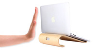 apple notebooks laptops - Apple Imac Computer Monitors Stand Laptop Stands Apple MacBook Bracket Flat Notebook Computer Bracket Laptop Cooler