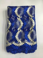 Wholesale Hot fashion d embroidery lace African french tulle lace fabric for woman dress