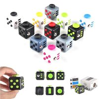 best attention - 11 colors Fidget Cube Anxiety Stress Relief for Adults Kids Attention Therapy Children Adult decompression Better Focus Toys Best Gift DHL