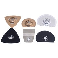 Wholesale 6pcs Diamonds alloy blade saw dis kit renovator tools solid durable good quality for multimaster oscillating power tools parts