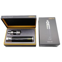 Single big cf - Clear stock Big promotion aspire elite kit E Cigarettes With ml Aspire Atlantis Mega And MAH Aspire CF MAXX W MOD