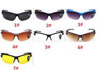 achat en gros de articles pour le cyclisme-Nouvelle arrivée lunettes de lunettes de vision nocturne Driving Cycling Spor UV lunettes de soleil polarisées verre sport nouvelle marque hommes lunettes de soleil bonne qualité
