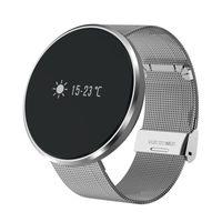Bon Marché Taux samsung-De bonne qualité M88S Smart Bracelets Sport Wrist Band Smart Watch Monitor de fréquence cardiaque Passometer Smartband Pour Samsung S8 IOS i7 plus i6 rouge