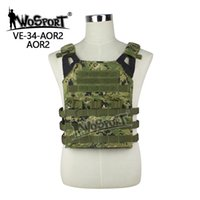 Wholesale WoSporT Tactical JPC Vest Chest Rig Jumper carrier Nylon MOLLE Gear for Airsoft sports Paintball Combat Hunting Shooting