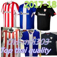 Soccer Men Short New 2017 2018 Athletic Bilbao Soccer Jersey 17 18 Athletic  Club de Bilbao aa47b1e1dbae5