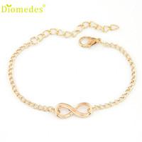 Hot Femmes Fille Chinoise Cadeau Bracelet 8 Bijoux Forme Bracelets coréens en ligne shopping femme femme argent-bijoux S32