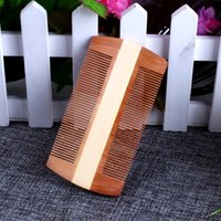 Paddle Brush anti lice - Comb comb comb tooth scraping massage wood lice eggs dandruff chaohaoyong anti static