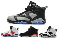 angry boys - 2017 high quality air retro VI mans Basketball shoes Angry bull Carmine Infrared Oreo WhiteInfared Black sport blue Olympic Sale sneakers