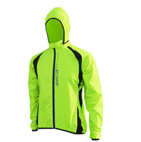 Wholesale Cycling Sports Shirts Men Riding Breathable Reflective Long Sleeve Wind sun protection clothing for outdoor sports coa