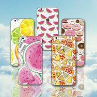 banana phone case - Fruit Cases For Iphone s se s plus s plus plus Soft TPU Lemon Banana Watermelon Hamburger Ultra thin Phone Cases