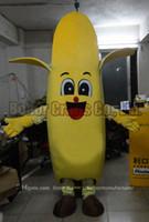XL bananas music - banana mascot costume inside mould is sponge high quality cheap plush banana mascot cartoon set adult type