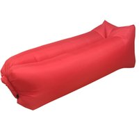 Wholesale 2017 New Square head D polyester fast air filled camping hiking outdoor air lounger inflatable sofa