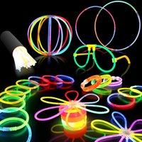 Wholesale Glow Stick Fluorescent Wedding Party Decoration Light Kids DIY Toys
