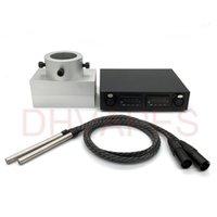 Wholesale Double holes Rosin Press aluminium Plates Dual PID Electric Nail Enail temperature Control box with heating rod