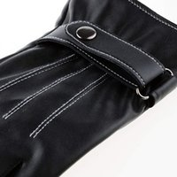 Wholesale Best Luxury Touchscreen Leather Gloves for men s Texting Driving Cashmere Lining SWISSANT