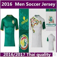 Wholesale NEW SENEGAL MAILLOT DE FOOT soccer jersey men Senegal Home away thailand quality football jerseys