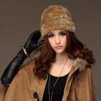 beaver hat - Genuine fur hat new natural beaver fur hats women s fashion fur cap retail with Beanies cap MC034 Winter Hats