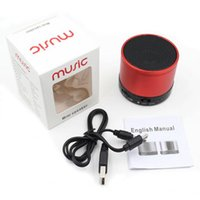 Wholesale S10 Bluetooth Speaker Outdoor Speakers Handfree Mic Stereo Portable Speakers TF Card Call Function Without Logo