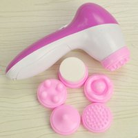 Wholesale Deep Clean in Electric Facial Cleaner Skin Care Brush Massager Scrubber
