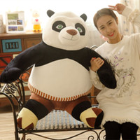 Wholesale 1pcs CM Kung Fu Panda Po Big Giant Large Stuffed Soft Plush Toy Doll