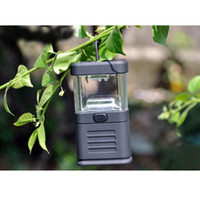 Wholesale Portable LED Ultra Bright Bivouac Hiking Tent Lantern Outdoor Lamp Light Black Color High Quality