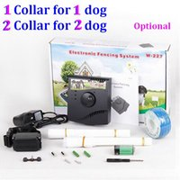 Wholesale 112pcs waterproof Smart Pet dog underground Electronic dog Training Fence in ground pet fencing system W W227