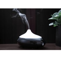 Wholesale CAROLA Aroma Diffuser Human Infrared Humidity Control Room Diffuser ml Oil Diffuser Hours Working Time Essential Oil for home black