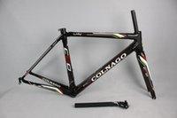 Wholesale Spuer light Size XS S M L XL Carbon road frame C60 carbon fibre bike frame many colors Can choose