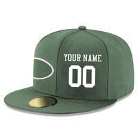 ball j - New York J Snapback Hats American Football Team Hip Hop Baseball Caps Custom Name Snapbacks Hats for Men
