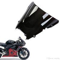 achat en gros de yamaha r6 pare-brise moto-Nouveau bouclier pare-brise ABS Double Bubble pour Yamaha YZF R6 1998-2002