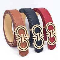 Wholesale 2017New brand designer kids PU leather belts children boys girls Letter buckle Leisure waist strap waistband children Belts