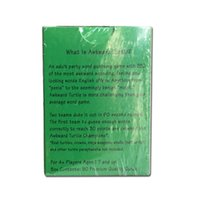 Wholesale 333 Novelty Playing Cards Game Awkward Turtle The Adult Party Word Game With A Crude Sense Of Humor English Word Gues OOO