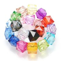 Wholesale Colorful Transparent Acrylic Beads mm Bead for DIY Home Curtain Jewelry Decorations Retail
