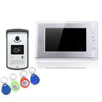 best intercom - the best selling V70C ID villa video door phone quot TFT screens and intercom with ID card to unlock keys