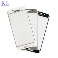 10pcs / lot 100% Original avant écran LCD écran tactile en verre pour Samsung Galaxy S6 Edge G925F S6 bord plus G928F pièces de rechange