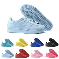 art packing boxes - 2017 Cheap Superstar Supercolor Pack Multi color Men Women Superstars Running Shoes Sneakers Classic Super Star Casual Shoes