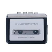 audio music cassette tapes - Hot sale USB Cassette Tape Converter Cassette to MP3 Audio capture Music Player Tape to PC Portable Cassette to MP3 Converter