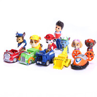 Wholesale 12 Kids Toys Ryder Dogs Action Figures Patrulla Canina Toy Puppy Patrolling For Children Boy Little Gift Patrulla De La Pata